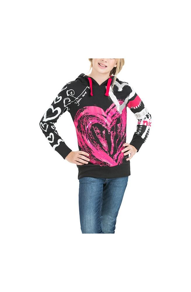 Desigual girl's CAMUS  sweatshirt  57S34E0-2000-3-4