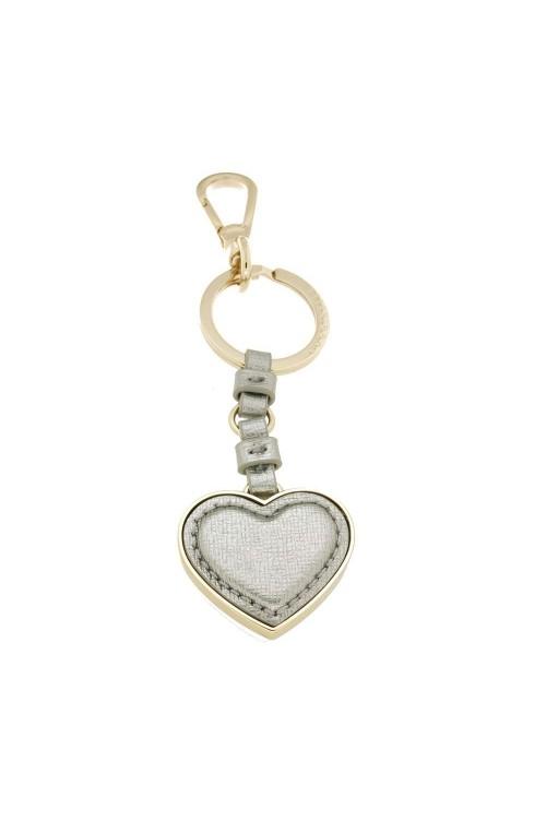 Portachiavi COCCINELLE Heart Argento Pelle Donna - E8AZ441H505169