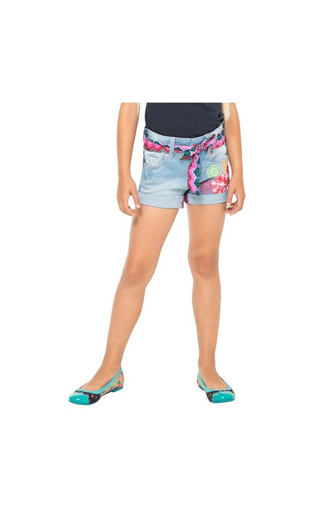 Shorts da bambina Desigual modello DENIM- 61D33C1-5005-5-6