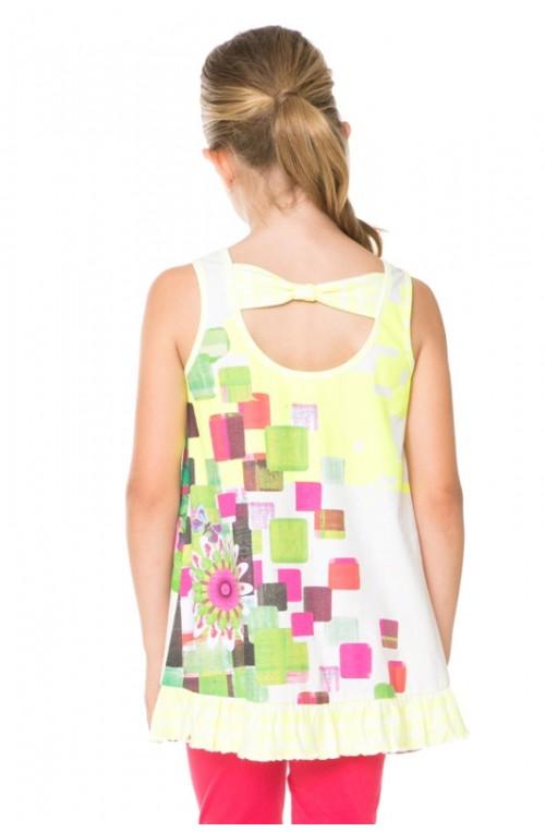 Desigual girl's HALIFAX T-shirt 61T30G1-8023-3-4