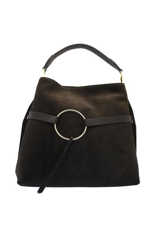 GIANNI CHIARINI Bag Female Tote Suede Brown - 6011CMSFY2228