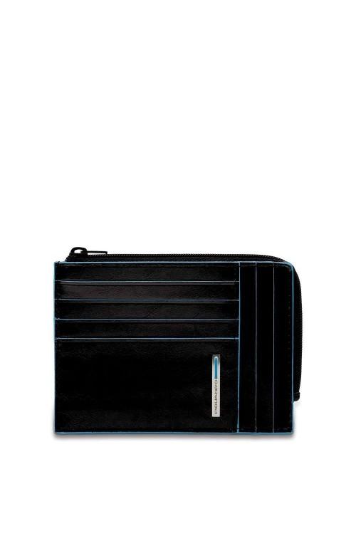 Portafoglio PIQUADRO B2 Pelle Nero - PU1243B2R-N