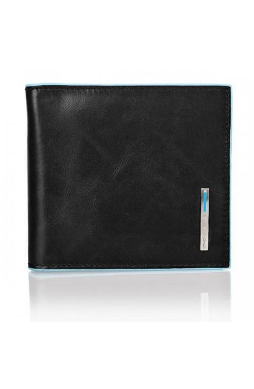 Portafoglio PIQUADRO Blue Square Uomo Nero - PU1666B2-N