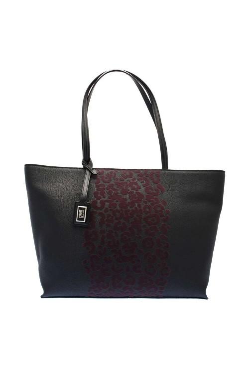 CLASS ROBERTO CAVALLI Bag Velvet Female Black Bordeaux - C73PWCOM0032B10