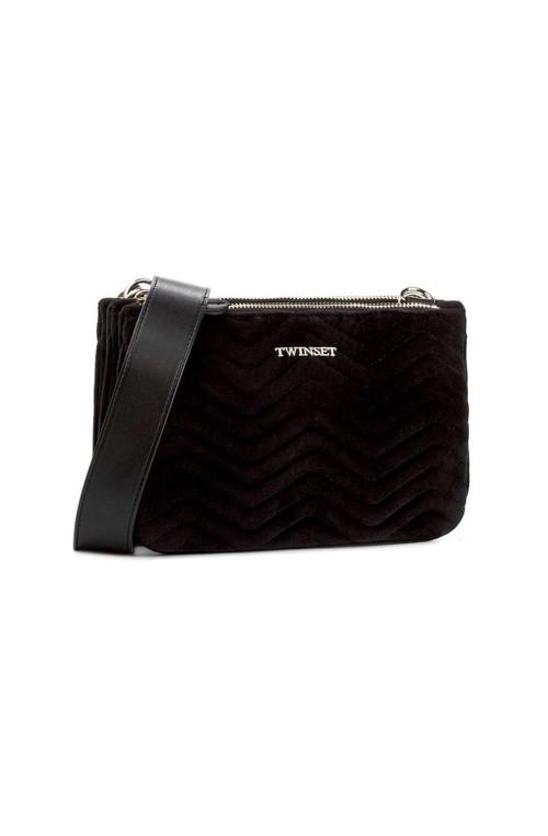 TWIN-SET Bag Female Velvet Black - OA7TBE-00006