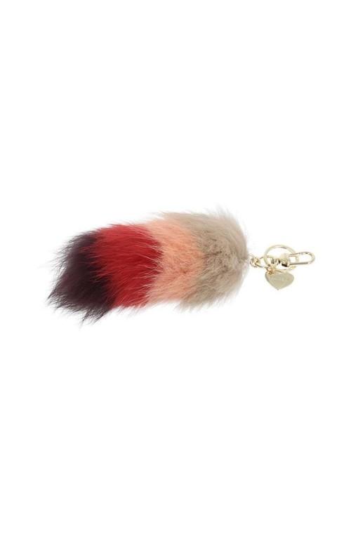 Portachiavi TWIN-SET Multicolore Rosso Donna - OA7THA-01536