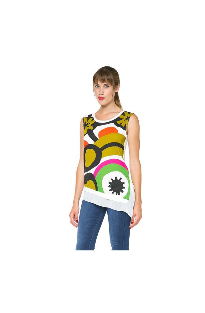 T-shirt da donna Desigual modello ALTAS- 61T2LB8-1000-M