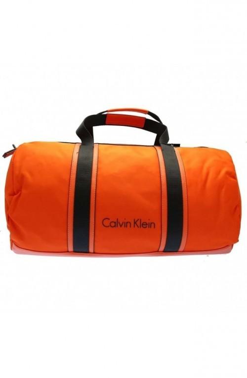 Borsa CALVIN KLEIN BLITHE CYLINDER DUFF Uomo Arancio- K50K503444801