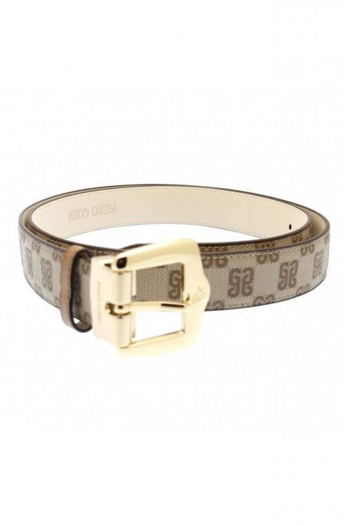 Cintura PIERO GUIDI Monogramma Donna Cuoio - 640L73088-11