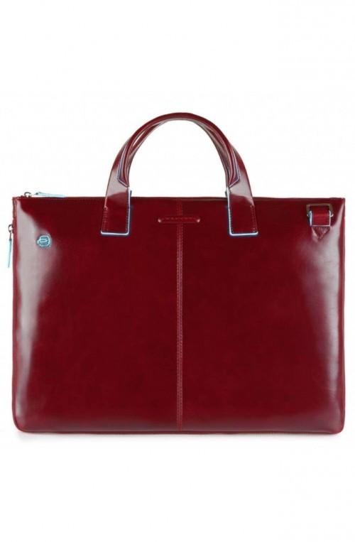Borsa PIQUADRO Blue Square Cartella Pelle Rosso espandibile - CA4021B2-R