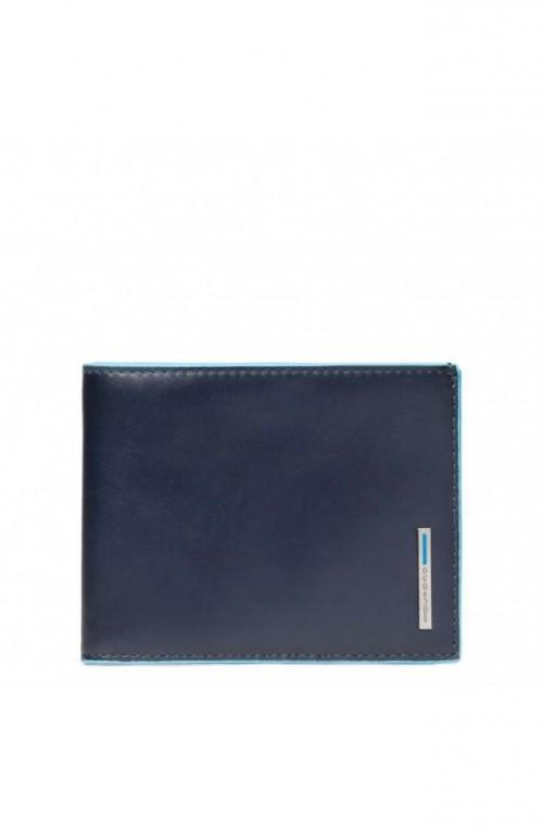 Portafoglio PIQUADRO B2 Uomo Pelle blu PU257B2R-BLU2