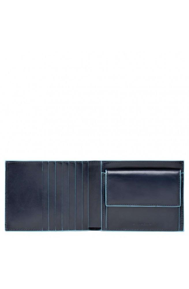 Portafoglio PIQUADRO BLUE SQUARE Uomo - PU1239B2-GR2