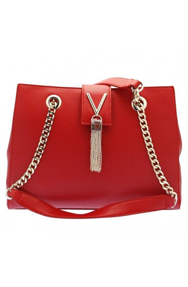 Borsa VALENTINO Divina Donna shopping rosso - VBS1R406G-ROSSO