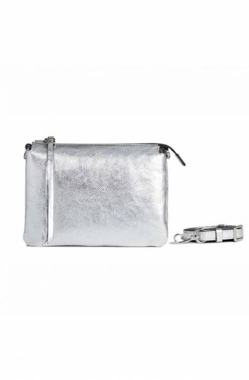 GIANNI CHIARINI Bag Three Female Silver - 436218PELMW0406