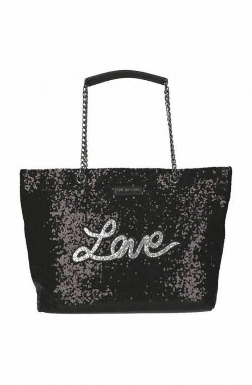 LOVE MOSCHINO Bag SEQUINS Female Black - JC4101PP15LR0000
