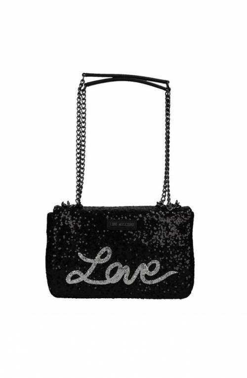 LOVE MOSCHINO Bag SEQUINS Woman Black - JC4103PP15LR0000