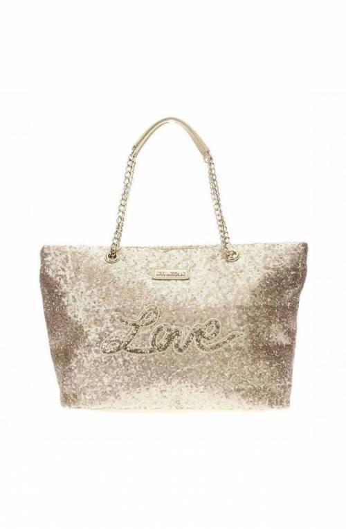 LOVE MOSCHINO Bag SEQUINS Female Gold - JC4101PP15LR0901