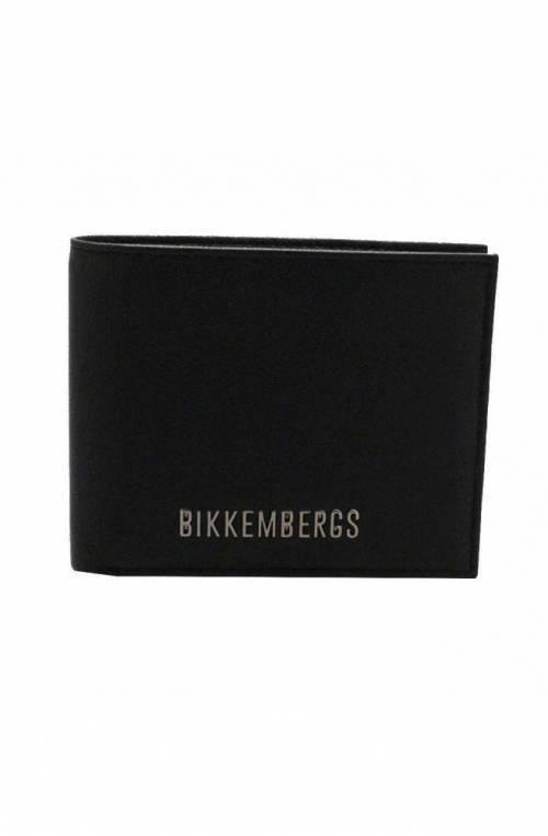 BIKKEMBERGS Wallet Male Leather Black - 8ADD1E050A2