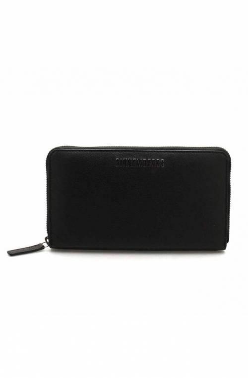 BIKKEMBERGS Wallet Male Leather Black - 8ADD1E070A2