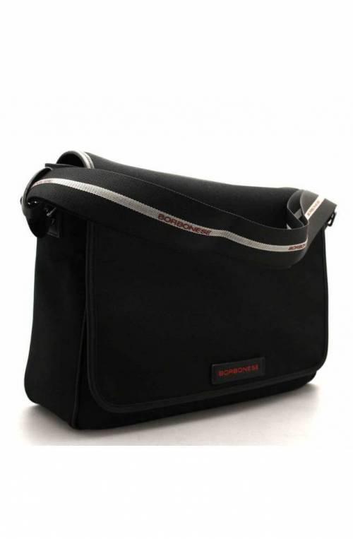 BORBONESE Bag Male Black - 943322-J29-100