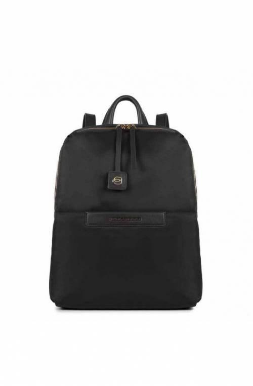 PIQUADRO Backpack Loire Female Black CA4012S91-N