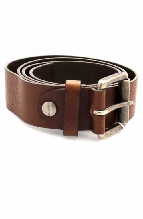 Cintura BIKKEMBERGS Uomo Pelle Marrone - 8ADD187714L
