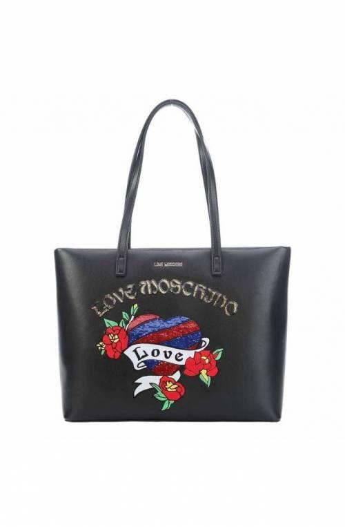 Borsa LOVE MOSCHINO Donna Nero - JC4057PP16LJ0000