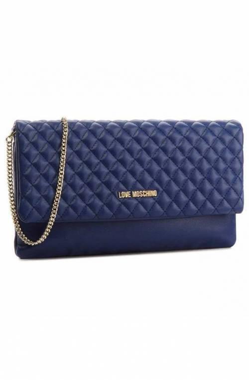 LOVE MOSCHINO Bag Pre Fall/Winter 2018 Female Blue - JC4097PP16LA0750