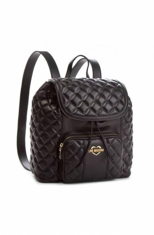 LOVE MOSCHINO Backpack Female Black - JC4001PP16LA0000