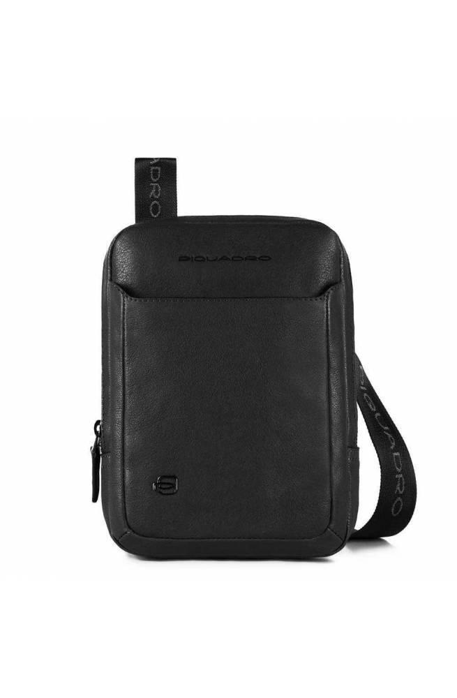 PIQUADRO Tasche Black Square Herren Leder Schwarz - CA3084B3-N