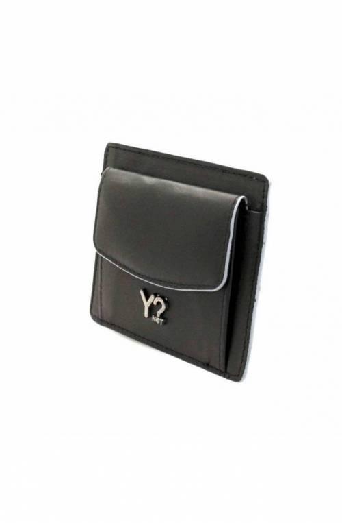 Porta carte di credito YNOT Uomo Nero Grigio - BIZNA12W45