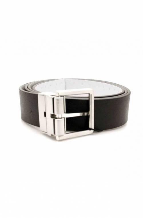 Cintura CALVIN KLEIN Uomo Pelle Grigio-Nero - K50K503798910-115
