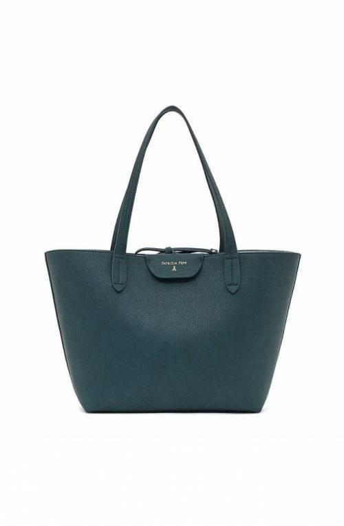 PATRIZIA PEPE Bag Female DoublePetrol/Gun M Reversible - 2V5452-AV63-I2UV