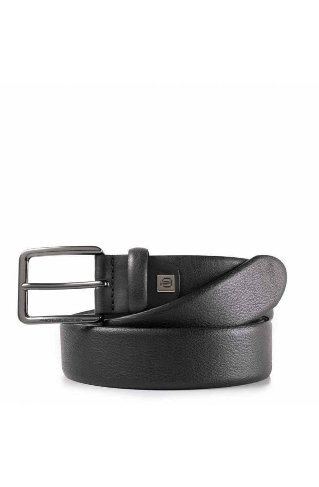 PIQUADRO Cinturón Black Square Hombre Cuero Negro - CU4204B3-N