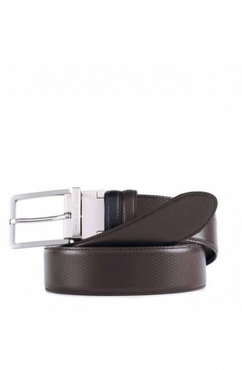 Cintura PIQUADRO Uomo Reversibile Marrone-Nero - CU4554C11-NM