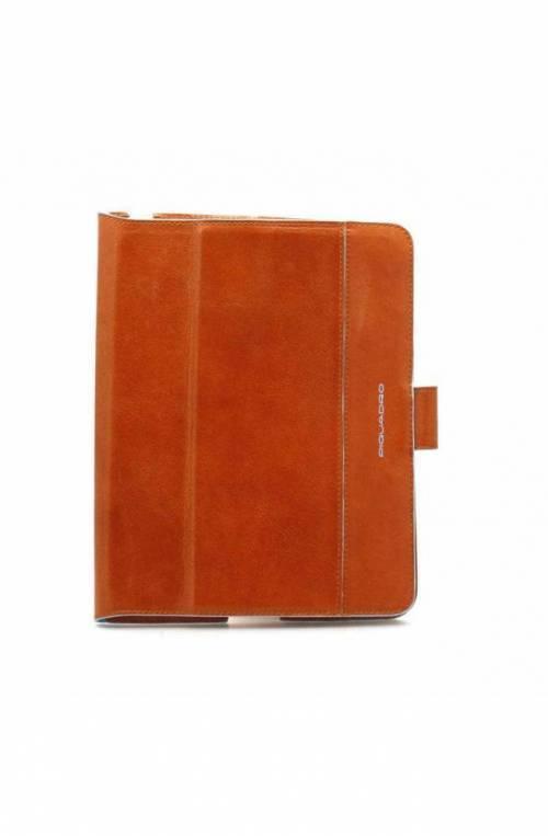 Custodia Tablet PIQUADRO Unisex Arancio - AC2691B2-AR