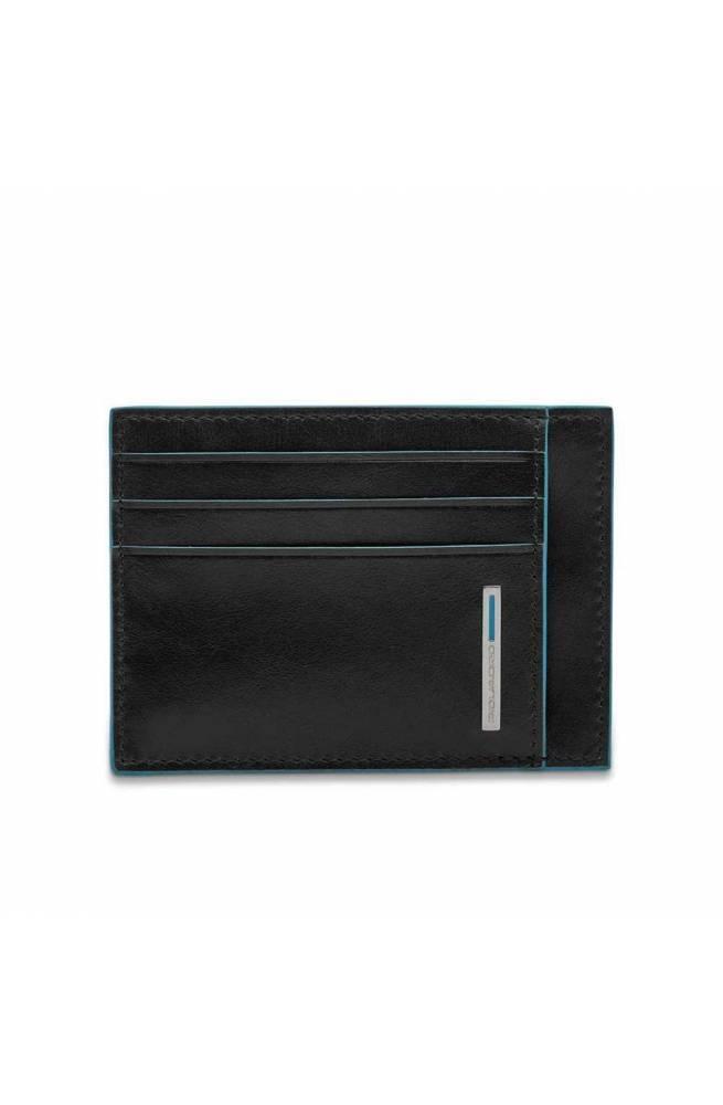 Porta carte di credito PIQUADRO Blue Square Nero - PP2762B2R-N
