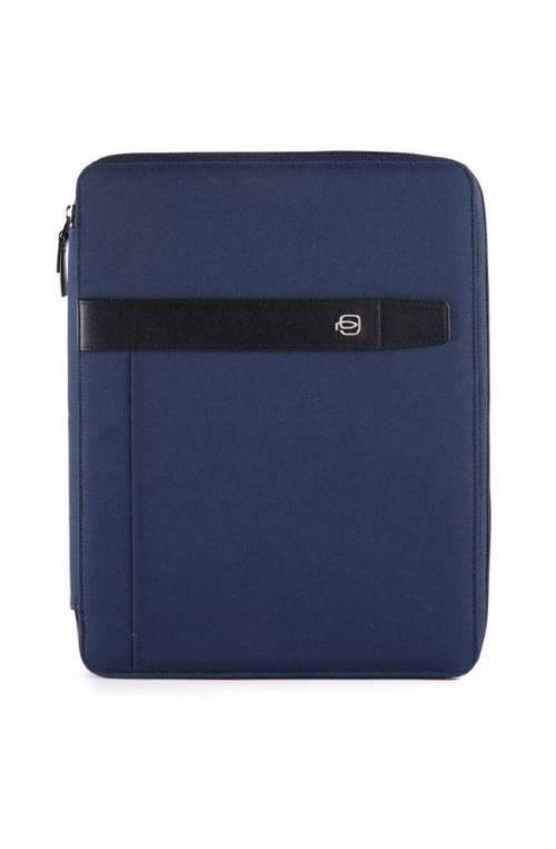 Slim notepad holder Piquadro A4 format W90 PB1448W90-BLU