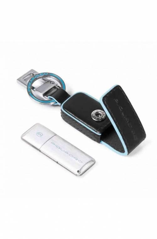 PIQUADRO Keyrings 16GB Blue Square Unisex - AC4246B2-N