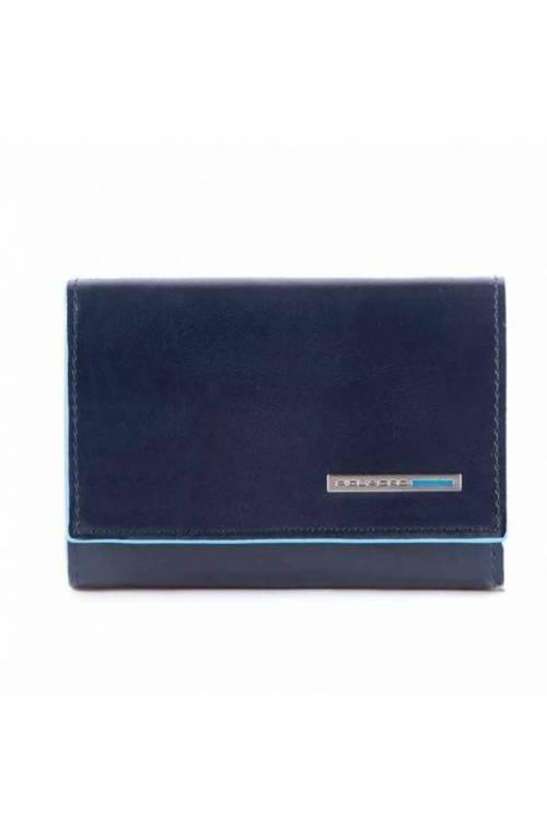 PIQUADRO Wallet - PP4522B2-BLU2