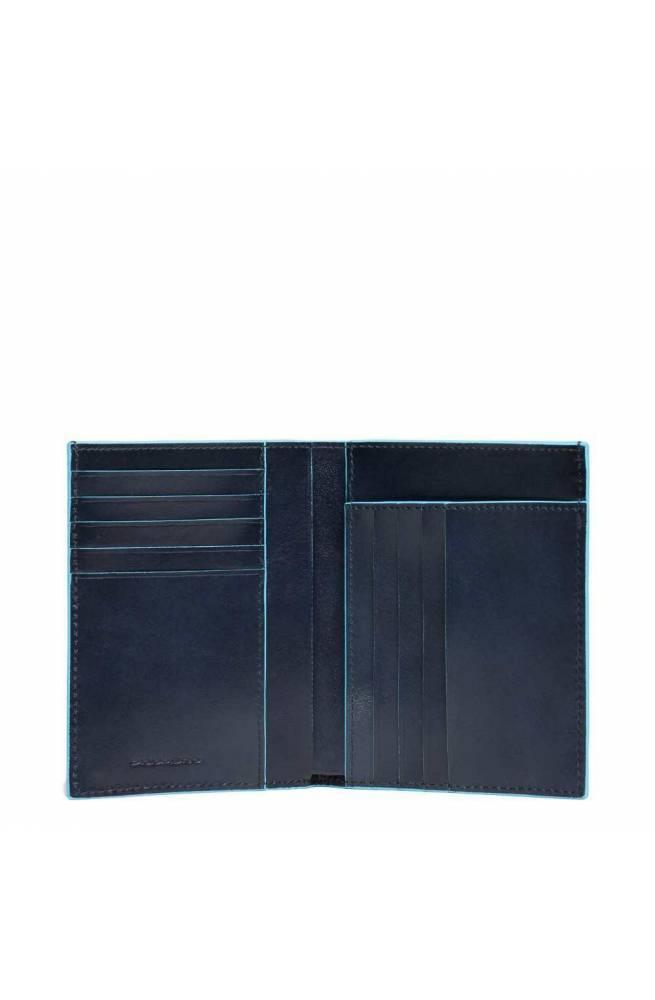 Piquadro Scheintasche Hochformat Blue Square PU1393B2-BLU2