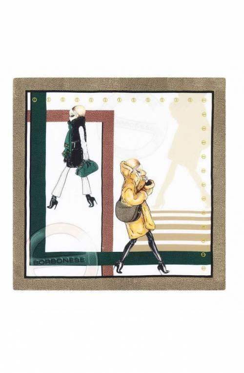 Foulard BORBONESE DOLLS Donna Seta Multicolore - 6DP014-V59-R65