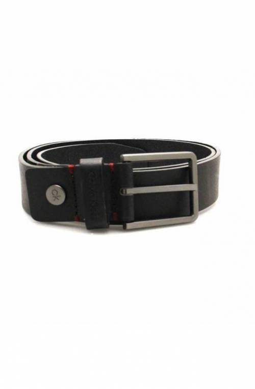 Cintura CALVIN KLEIN Uomo Pelle 100 Nero - K50K504237001-100
