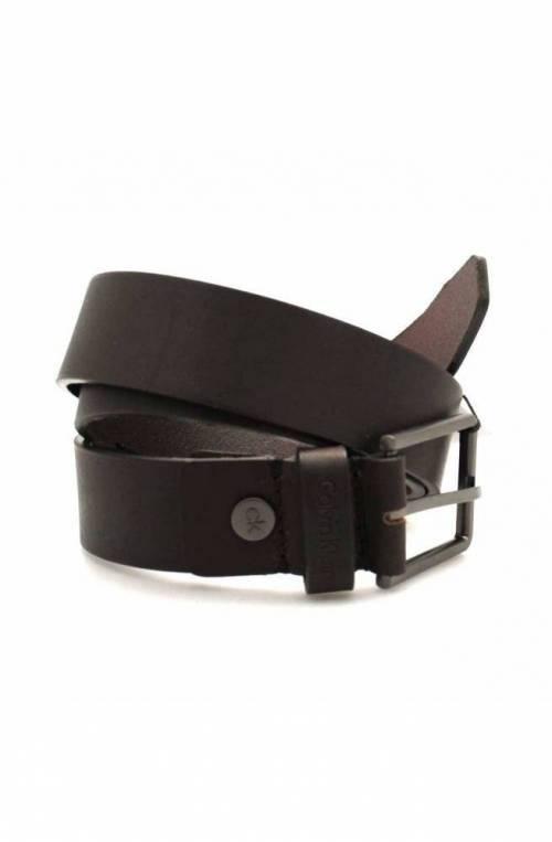 Cintura CALVIN KLEIN Uomo Pelle 105 Marrone - K50K504237201-105