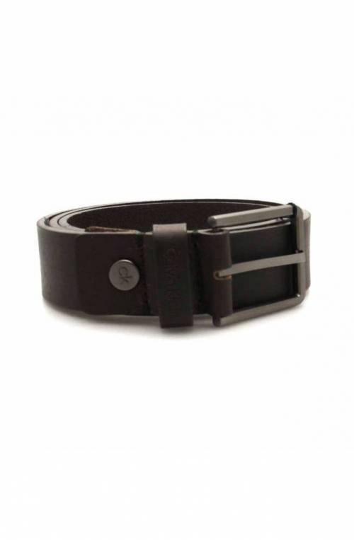 Cintura CALVIN KLEIN Uomo Pelle 110 Marrone - K50K504237201-110