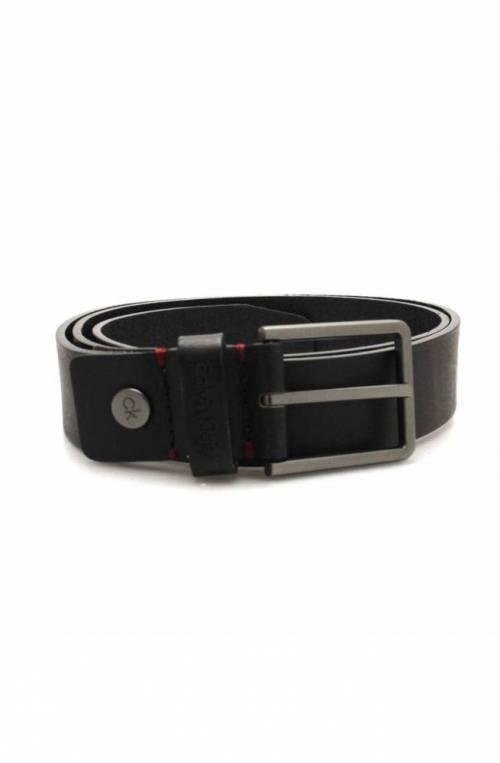 Cintura CALVIN KLEIN Uomo Pelle 110 Nero - K50K504237001-110
