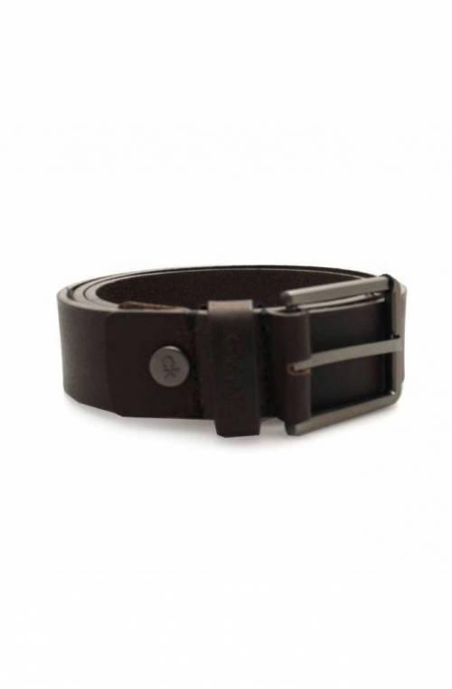 Cintura CALVIN KLEIN Uomo Pelle 95 Marrone - K50K504237201-95