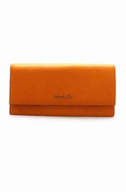 Portafoglio COCCINELLE Donna Pelle Arancione - E2DW5110301R12