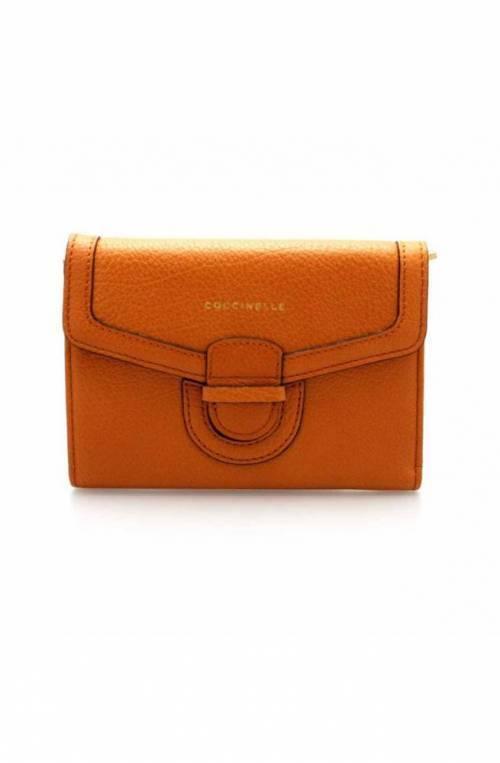 Portafoglio COCCINELLE VEGA Donna Pelle Arancione - E2DS0116601R12