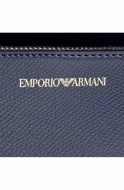 Borsa Emporio Armani Donna Nero/blu notte - Y3B084-YH15A-88293
